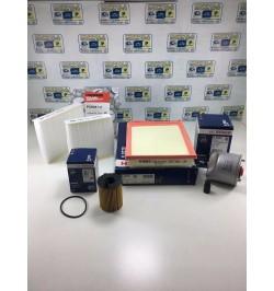 KIT TAGLIANDO PEUGEOT 208 Van-Mix (01/12) 1.4 HDi (50Kw) (68CV)