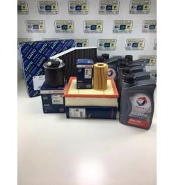 KIT TAGLIANDO MERCEDES CLASSE GLA (X156) (01/14) 220 CDI 4MATIC SUV + 7 LT OLIO