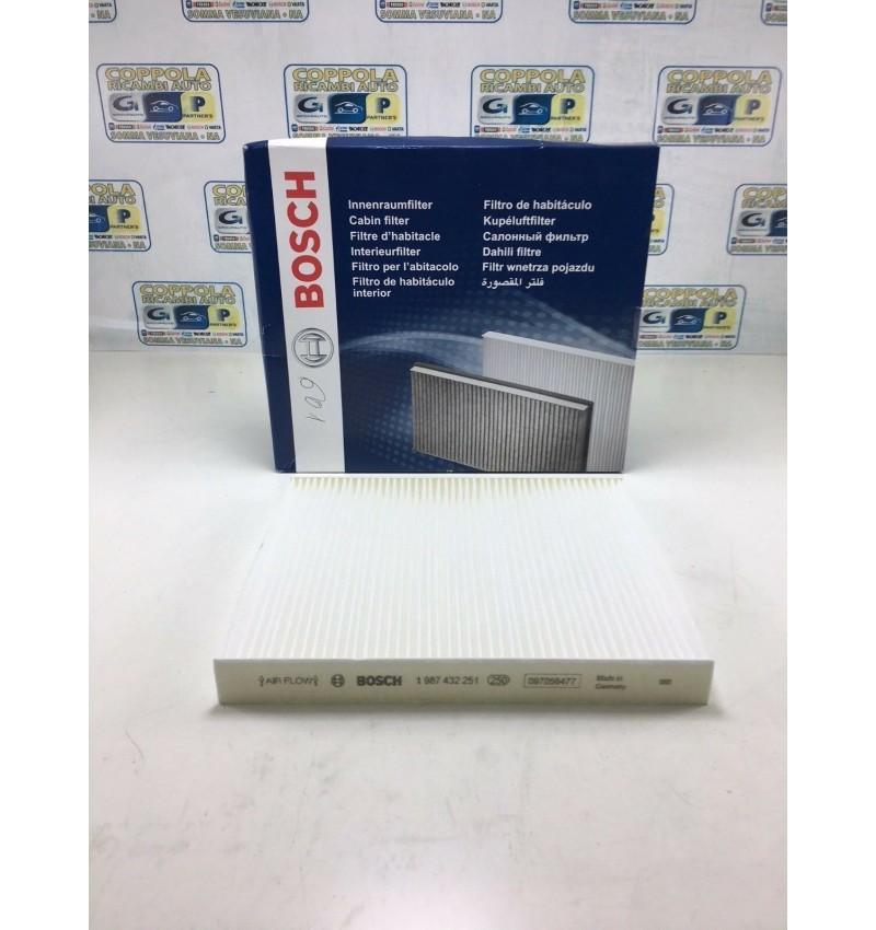 Bosch 1987432251 Filtro Abitacolo